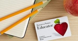 Barnes Noble Educator Discount