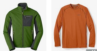 Eddie Bauer Teacher Discount Men's Deals
