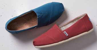 TOMS teacher discounts