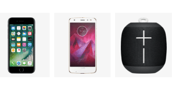Verizon cell phone, tablet & accessory deals
